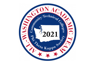 2021 All-Washington Academic Team Logo
