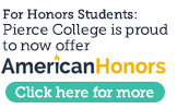 American Honors button