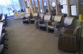 chairs in Fort Steilacoom computer lab