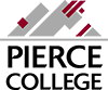 pierce college square logo