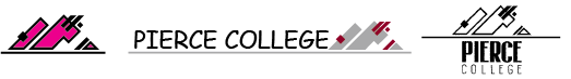 A collection of unacceptable Pierce College Logos