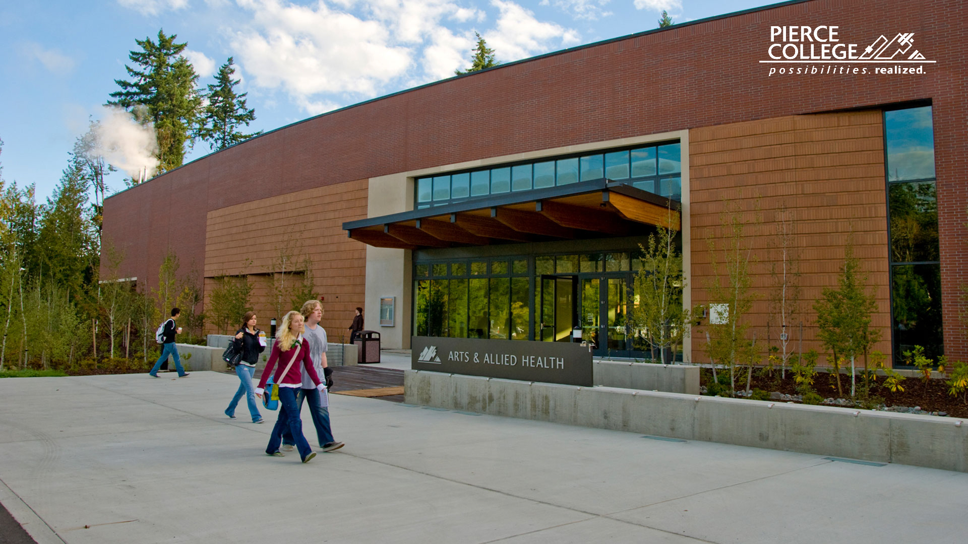 Arts and Allied Health Building, Puyallup campus