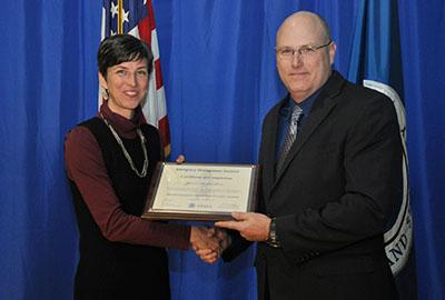 Pierce College HSEM professor graduates from FEMA's National