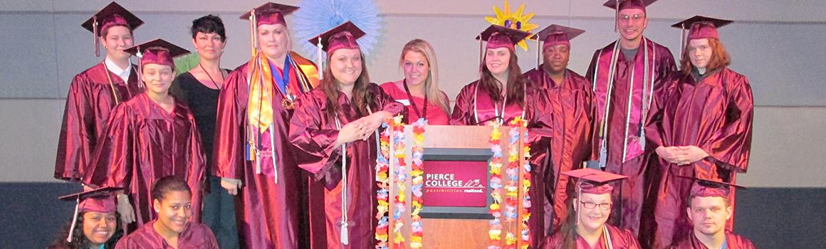 Graduates from the TRiO program