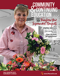 community and continuing education fall 2019 bulletin cover