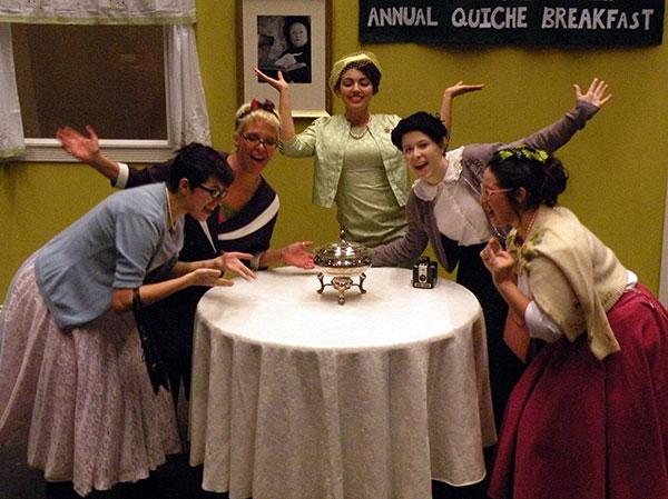 5 Lesbians Eating a Quiche (2015)