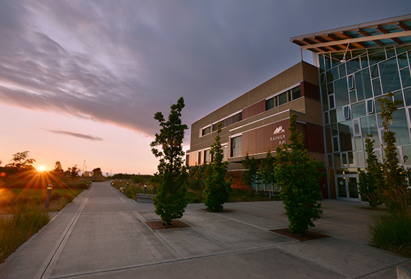 Rainier building on Fort Steilacoom campus