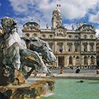 fountain in lyon france