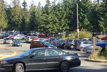 Pierce College Puyallup parking lot