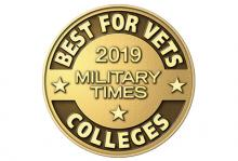 2019 Best for Vets Military Times logo