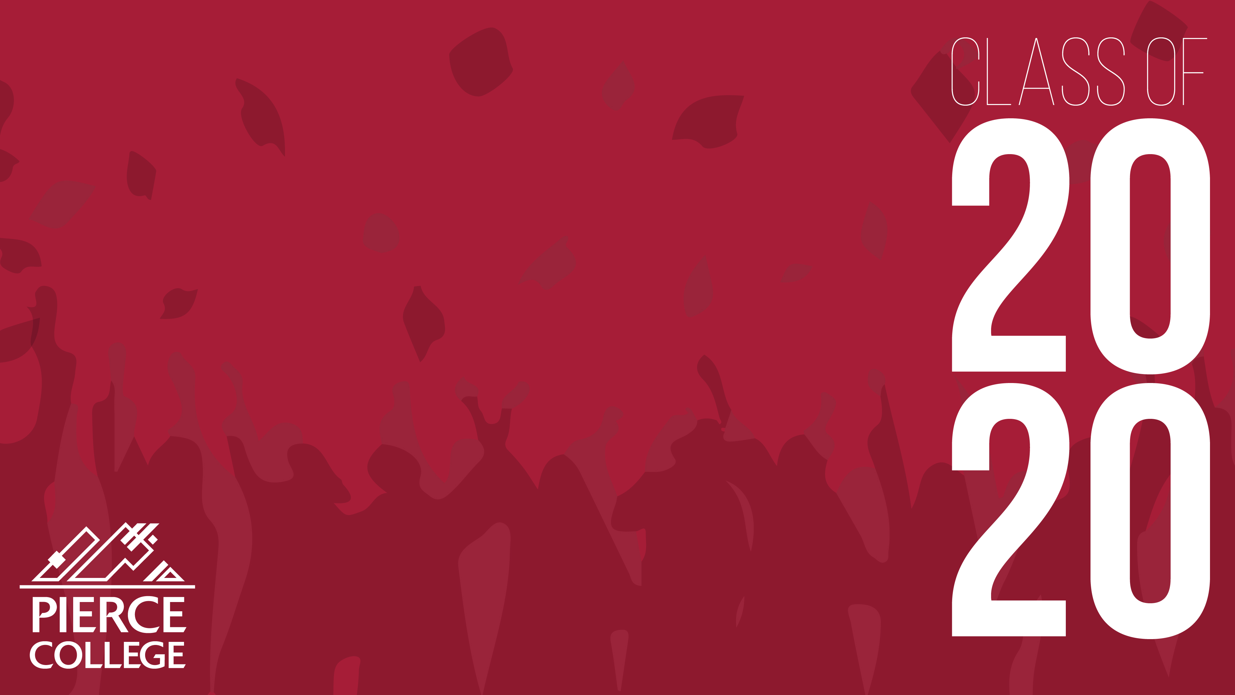 Illustration of graduates throwing caps in the air